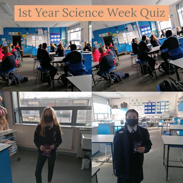 1st Year Science Week Quiz