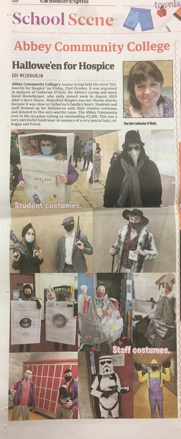 Halloween for Hospice Coverage in Local Media