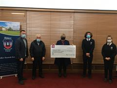 Cheque Presentation to Waterford Hospice