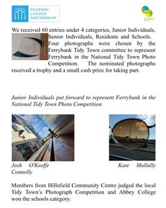 Tidy Towns Photography Competition