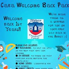 A Warm Welcome Back our 1st Years from the Cara Team