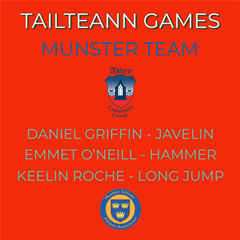 Tailteann Games - Munster Team