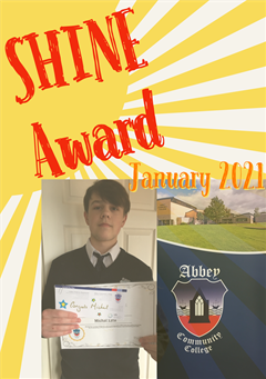 TY SHINE Award for January